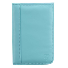 Lewis N Clark RFID-Blocking Passport Wallet - Aqua