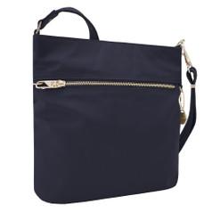 Travelon Anti-Theft Tailored N/S Slim Bag - Sapphire