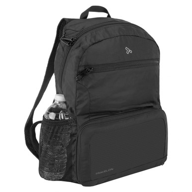 Travelon Anti-Theft Active Packable Backpack - Black