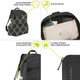 Travelon Anti-Theft Active Packable Backpack - Anti-Theft Features