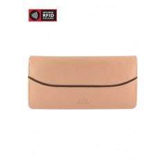 Mancini Gemma - Ladies' Trifold Wallet (RFID) - Tan