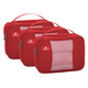 Eagle Creek Pack-It Original Cube Set - S/S/S - Red Fire