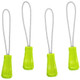 Eagle Creek Reflective Zipper Puller Set - Strobe Green
