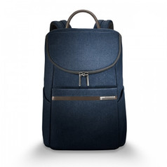 Briggs & Riley Kinzie Street Small Wide Mouth Backpack - Navy