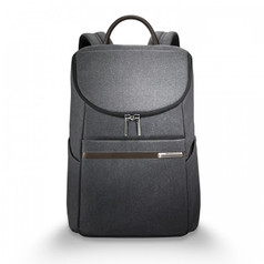 Briggs & Riley Kinzie Street Small Wide Mouth Backpack - Grey