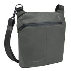 Travelon Anti-Theft Active Small Crossbody Bag - Charcoal