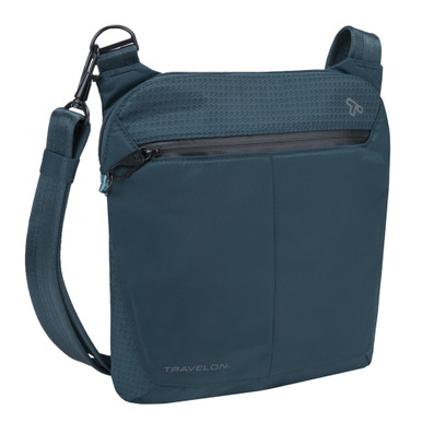 Travelon Anti-Theft Active Small Crossbody Bag - Teal