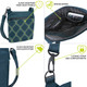 Travelon Anti-Theft Active Small Crossbody Bag - Anti-Theft Features