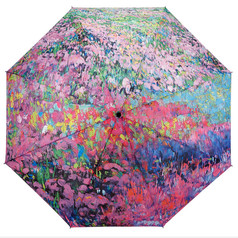 "Galleria Folding 48"" Umbrella - Garden Symphony"