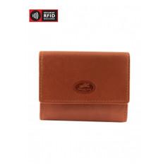 Mancini Manchester - Expandable Credit Card Case (RFID) - Cognac