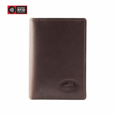 Mancini Manchester - I.D. Card Wallet (RFID) - Brown