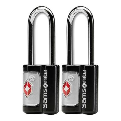 Samsonite 2 Pack TSA Key Locks - Black
