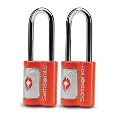 Samsonite 2 Pack TSA Key Locks - Varsity Red