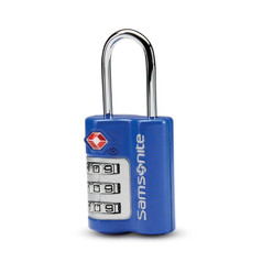 Samsonite 3-Dial TSA Combination Lock - Fantasy Blue