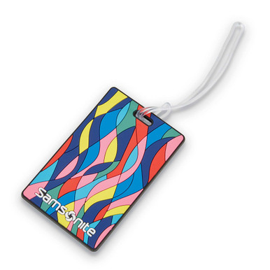 Samsonite Luggage ID Tags - Vectorfunk