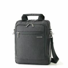 "Samsonite Modern Utility - Vertical Messenger Bag (13.3"") - Charcoal Heather"