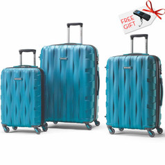Samsonite Prestige 3D, 3 Piece Set - Turquoise
