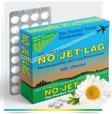 No-Jet-Lag Homeopathic Remedy (32 Tablets)