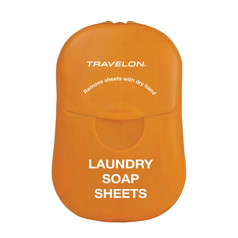 Travelon Laundry Soap Sheets