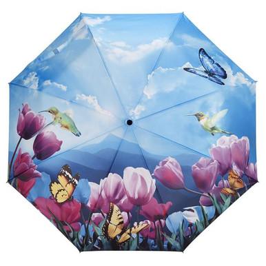 """Galleria Folding 48"""" Umbrella - Tulip Sonata"""