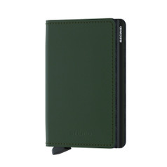 Secrid Slimwallet, Matte - Green Black