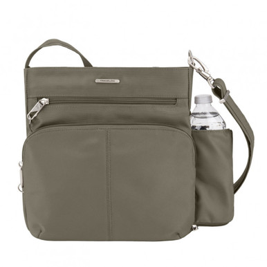 Travelon Anti-Theft Classic N/S Crossbody - Nutmeg