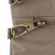 Travelon Anti-Theft Signature Double Zip Crossbody - Sable