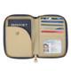 Travelon Signature Pleated Passport Wallet - Ocean