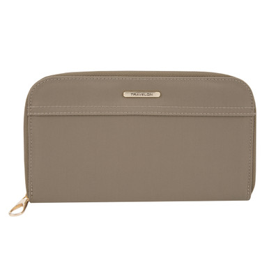 Travelon Tailored Jewelry Case - Sable