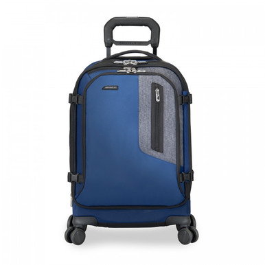 """Briggs & Riley BRX Explore 22"""" Domestic Carry-On Spinner - Navy"""