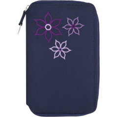 Travelon RFID Bouquet Passport Case - Royal Blue