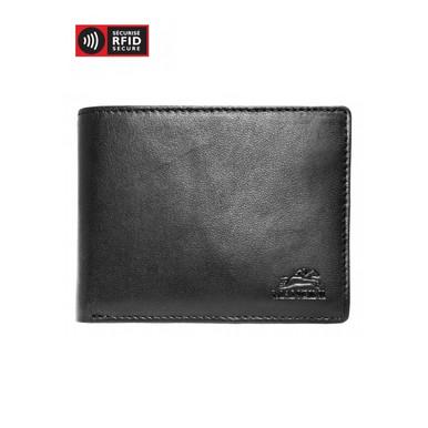 Mancini Durango Men's Billfold with Removable Passcase (RFID) - Black