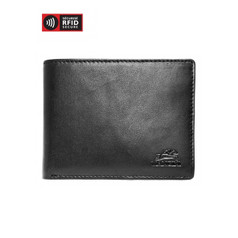 Mancini Durango Men's Billfold with Removable Passcase (RFID) - Black