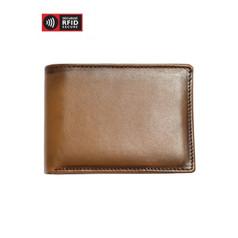 Mancini Belting - Men's Slim Wallet - Tan