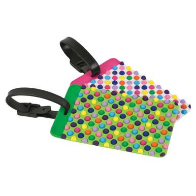 Travelon Set of 2 Luggage Tags - Dots