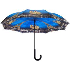 """Galleria 48"""" Reverse Stick Umbrella, Paris - City of Lights"""