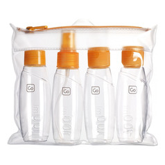 Go Travel Cabin Bottles Set - Orange