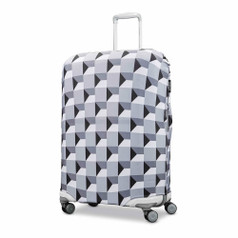 Samsonite Printed Luggage Cover, Medium - Infinity Grey