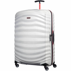 "Samsonite Lite-Shock Sport Spinner Large (30"") - Off White/Red"