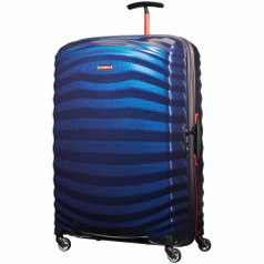 "Samsonite Lite-Shock Sport Spinner Large (30"") - Nautical Blue/Red"