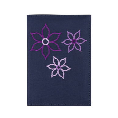 Travelon RFID Blocking Bouquet Passport Wallet - Royal Blue
