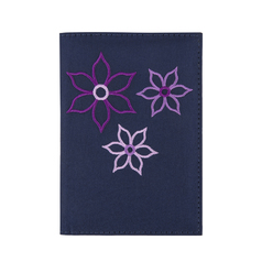 Travelon RFID Blocking Bouquet Passport Wallet - Royal Blue