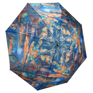 "Galleria Folding 48"" Umbrella, Cezanne's The Brook"
