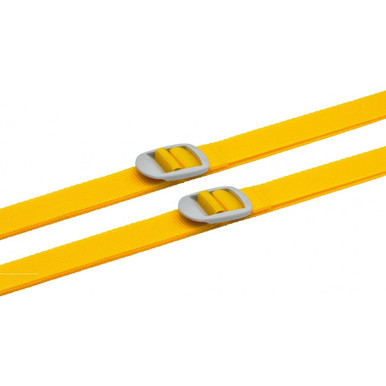 Go Travel 2 Luggage Straps - Yellow