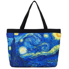 Galleria Tote Bag, Van Gogh's Starry Night