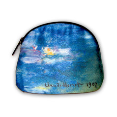 Galleria Cosmetic Bag, Monet's Water Lilies