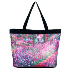 Galleria Tote Bag, Monet's Garden