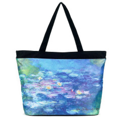 Galleria Tote Bag, Monet's Water Lilies