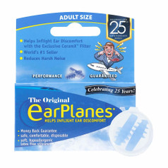 Lewis N Clark EarPlanes - Pressure Reducing Ear Plugs, Adult