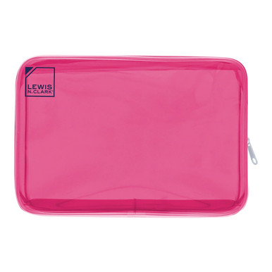 Lewis N Clark 3-1-1 Toiletry Case, Translucent - Pink